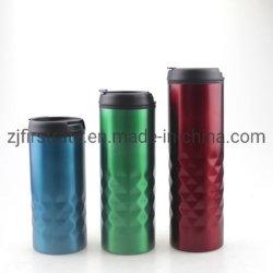 Populäres 18 Unze-Edelstahl-Arbeitsweg-Kaffeetasse-Automobil-Geschenk-Cup mit Plastik innerhalb und Stahlaußenseite