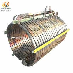 溶けることのための6mmの厚さの中間周波数の誘導加熱の銅のコイル