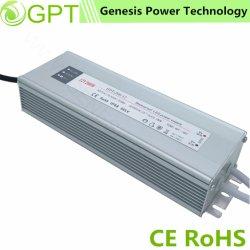 12V 24V 200W коммутации AC/DC Водонепроницаемый светодиодный индикатор постоянного напряжения питания IP67, один выход для использования вне помещений адаптер питания питания с маркировкой CE RoHS заводской сборки