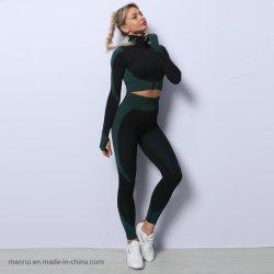 Traje traje Quick-Drying Three-Piece Yoga Yoga fitness gimnasio de desgaste de desgaste de las prendas de vestir