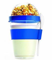 12oz Voyage à double paroi Portable yogourt glacé tasse en plastique
