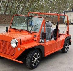 Elektrische Golf-Karre, niedriges Energieverbrauch-kleines Auto, flexible Steuerung, heller und glatter, Umweltschutz und unverschmutztes besichtigenauto