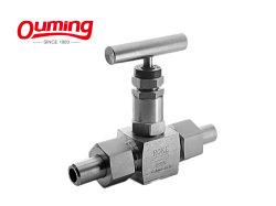Vanne de queue de soupape de gaz haute pression de valves à pointeau