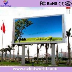 De alto brillo exterior de la pantalla LED DIP Unidad del panel de P16
