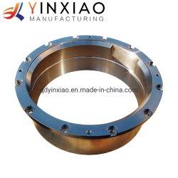 Precisión hecho personalizado OEM de aleación de acero inoxidable de hierro de fundición centrífuga con piezas de mecanizado CNC de corte de metales para tubo/Roller/BUJE/anillo partes