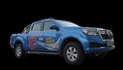 Dubbele Diesel van de Luxe van de Cabine Automatische Pick-up