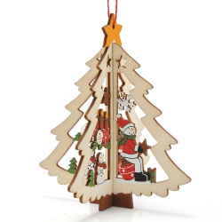 Рождество Xmas Tree украшения украшения из дерева