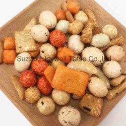 Le snack-Mix craquelins de riz chaud Halal de vente et d'arachides