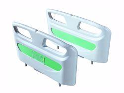 Medizinische Bett-Plastikzubehör ABS medizinischer Krankenhaus-Bett-Kopf-und Fuss-Vorstand