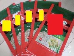 Moins cher sac de riz, farine de blé, haricots, sel, sucre, sac tissé, film laminé, sacs, Sack