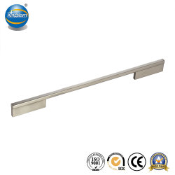 Venda a quente pega de alumínio armário de cozinha Botões de hardware para mobiliário
