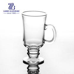 China-Lieferant alle Art Glascup-/Irishcoffee-Becher/Kaffeetasse mit Glassaucer-Großverkauf