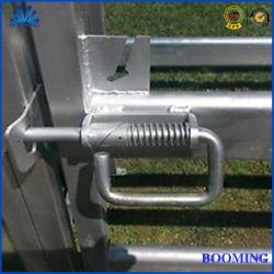 농장 이음쇠 또는 방목지 문 가축 또는 가축 우리 또는 말 또는 산양 또는 담의 시골 가축 또는 밝은 아연 코팅 또는 Hot-DIP 직류 전기를 통한 또는 Galvanized/14/20/25mm/Slam 래치