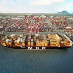 Transport de conteneurs en provenance de Chine à Thessalonique le Pirée