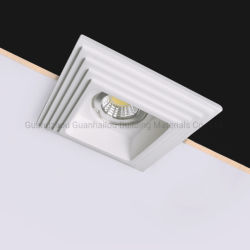 El ahorro de energía/LUZ EMPOTRADA LED lámpara de techo de yeso (128)