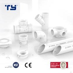 (CPVC /PVC) تركيبة أنابيب نفايات الصرف البلاستيكية مع معيار GB