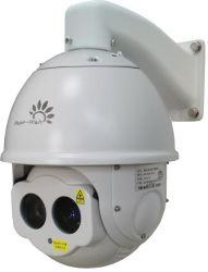 رؤية ليلية 300 م رؤية لمدة 800 م رؤية نهارية قبة سرعة طويلة المدى كاميرا التصوير بالليزر CCTV