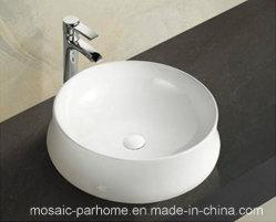 الحمام تصميم جديد حوض سطح منضدة ذو شكل دائري