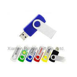昇進の広告の回転USBのフラッシュディスク
