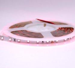DC 24V/12V высокий индекс цветопередачи для поверхностного монтажа с высокой плотностью 3528 светодиодный индикатор каната RGB гибкий светодиодный индикатор газа 60 светодиодов/M цвет сменные светодиодные полосы для украшения для установки внутри помещений