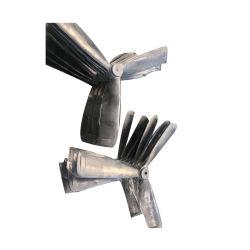 Alta precisión OEM ODM de metal personalizados del acondicionador de aire del motor eléctrico de las aspas del ventilador de aluminio