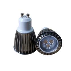 La alta eficiencia cree 3*2W SPOT AC85-265V regulable con casquillo GU10 MR16 Proyectores LED E27