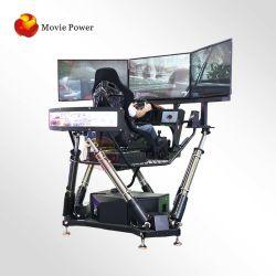 シミュレーター機械を運転する新しい電気9d Vrのカーレースのゲーム