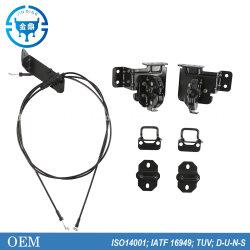 القطع التلقائية المصنعة للمعدات الأصلية قفل غطاء محرك الشاحنة الثقيلة HOWO