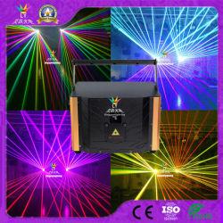 Nouvelle Discothèque Partie 5W pleine couleur RVB de l'animation DJ éclairage de scène de la lumière laser