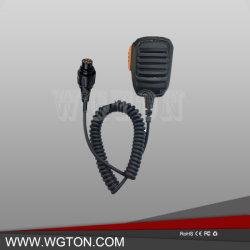 En mano Micrófono Altavoz, micrófono de solapa remoto Mic de altavoz de hombro para Walkie Talkie HYT MD780