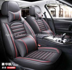 Carro automático de alta qualidade a tampa do assento do banco do carro coberto completo couro PVC capa de banco universal para automóvel