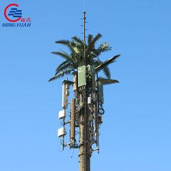 원거리 통신 강철에 의하여 위장되는 Monopole 탑을%s 직류 전기를 통한 인공적인 잎