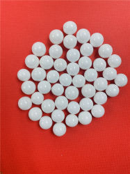 Het Zirconiumdioxyde van Yttria parelt hoog Witte Ceramische Parels Yttria - dichtheid