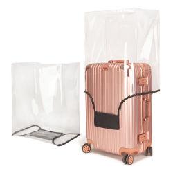 غطاء حقيبة الحماية من الأمتعة PVC الشفاف المقاوم للماء