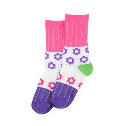 Sfuse all'ingrosso Funny Cozy calze personalizzate con logo Calze di cotone carino Donne Calcetines Mujer