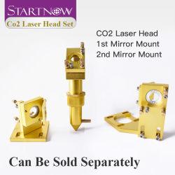 시작 12mm 18 포커스 렌즈 레이저 통합 마운트 홀더 4060 K40 레이저 머신 DIY CO2 레이저 헤드 세트