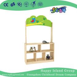 заводская цена дети деревянной мебелью из дуба игрушка полки (HJ-3504)
