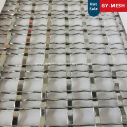شبكات سلكية من الفولاذ المقاوم للصدأ/نحاسي/ألومنيوم زخرفية من أجل الخزانات