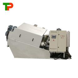 Pressione o parafuso de desidratação de lamas da máquina para a indústria têxtil de águas residuais
