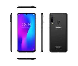 Smartphone Doogee N20 6.3INCH FHD+ Afficher 4350mAh 4GO GO+64Octa noyau 10W 16MP triple d'empreintes digitales de charge de la caméra arrière Téléphone mobile