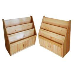 El mobiliario escolar modernos de madera estantería estantería Estantería de 3 capas