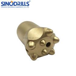 11 度円錐形テーパロックボタンビット Broca Botton Conica 34 mm