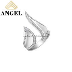 Bijoux de mode haute qualité Vente en gros 925 Sterling argent bague élégante Pour les femmes à la mode