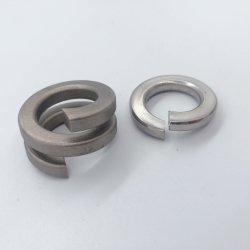 Bloqueo de acero inoxidable Wassher arandelas elásticas para los tornillos y tuercas