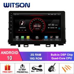 """Witson 9"""" на большой экран Android 10 автомобильный радиоприемник проигрыватель GPS для KIA Рио (все в одну конструкцию) 2017"""