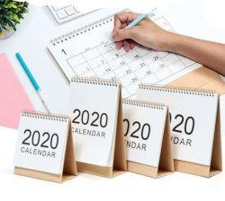 Kundenspezifischer kreativer Notizbuch-Tischplattenkalender
