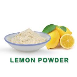 Polvere secca istante del limone del succo di frutta