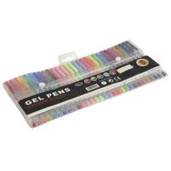 예술 마커를 당기는 색칠하기 책을%s 30PCS 색깔 젤 잉크 펜 반짝임 젤 펜