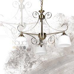 36768 elegante estilo europeo clásico colgante colgante Gota de Luz Dormitorio Comedor araña de luces de lectura