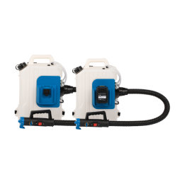 10L desinfectie op batterijen ULV Knapsack mist luchtblower mist Machinespuit